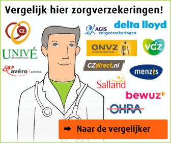 zorgverzekeringen vergelijken 2019 Basispremie PNOzorg 2014, € 91.54 per maand