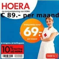 basis premie Hema zorgverzekering 2014 zorgverzekeringen vergelijken 2014 Premie Hema zorgverzekering 2014, € 89.  per maand & 10% korting op alles bij de Hema