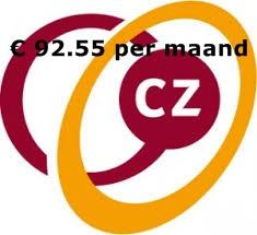 basis premie CZ zorgverzekering 2014 zorgverzekeringen 2014 vergelijken Premie CZ 2014, € 92.95 per maand