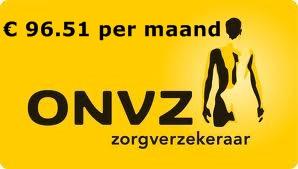 basis premie ONVZ zorgverzekering 2014 zorgverzekeringen 2014 vergelijken Premie ONVZ zorgverzekering 2014, € 96.51 per maand